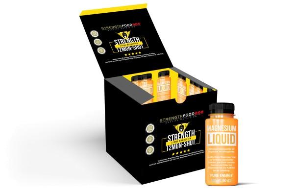 Magnesium Shots Liquid - 12 x 60ml Pack