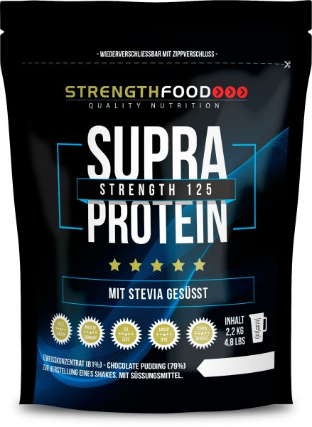 Supra Protein - 4 Komponenten Protein Pulver - Stevia - Xylit
