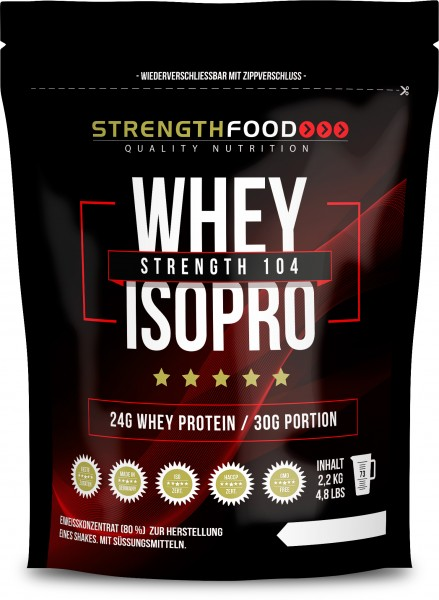 3 x 1000g Sparpack - Whey Protein Isolate - IsoPro - Stevia