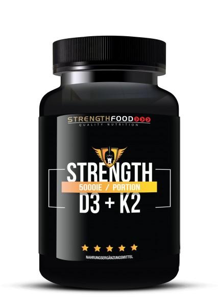 Vitamin D3 K2 Kapseln hochdosiert - 5000IE