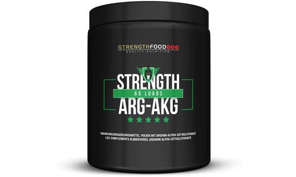 Strength ARG-AGK 100% Arginin AKG 300g Pulver