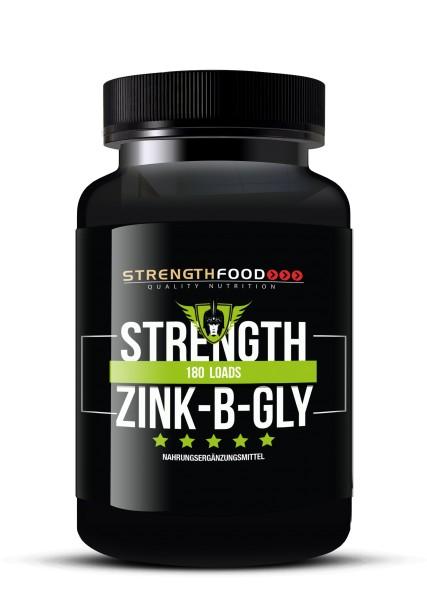 Strength Zink (Zinkbisglycinat) - 30mg pro Tab