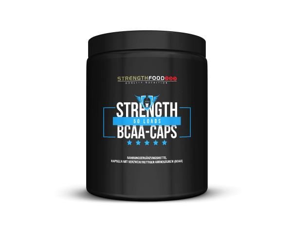 Strengthfood BCAA 200 Kapseln a 1000mg
