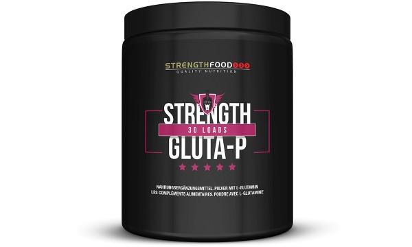 Strength Gluta-P - 100% Glutamin Pulver 300g