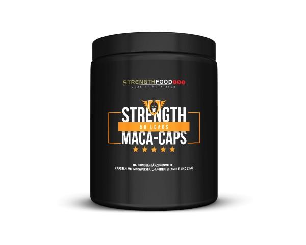 Strengthfood Macapulver + L-Arginin 200 Kapseln